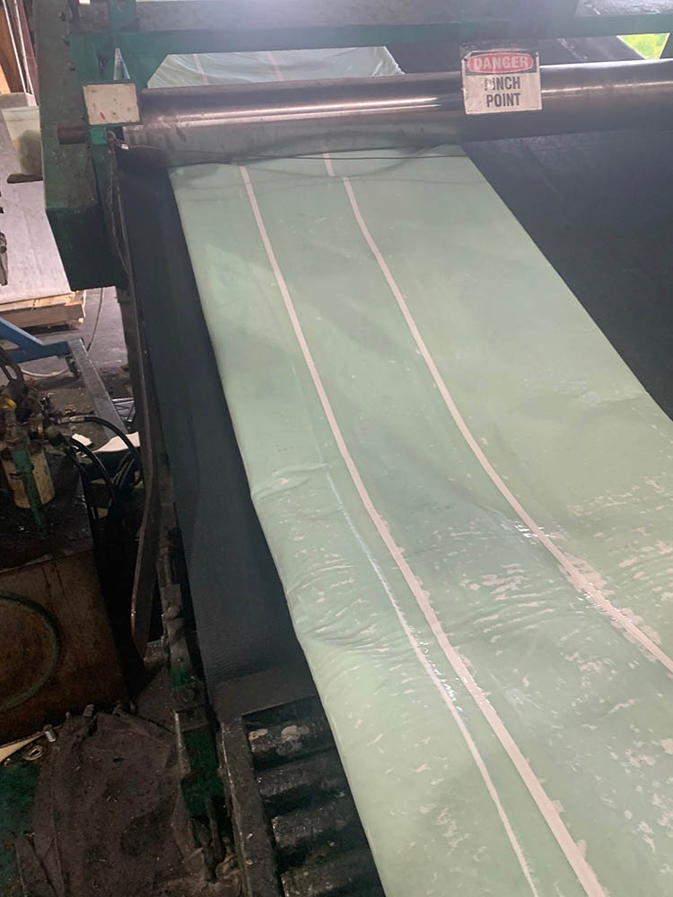 Coated inversion liners